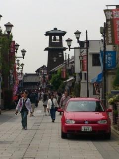 川越市時の鐘