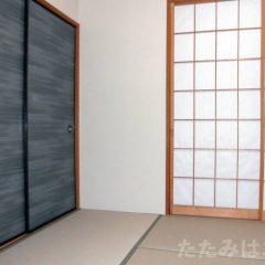 機械すき和紙畳表ダイケン「銀白」灰桜色:B.S社様